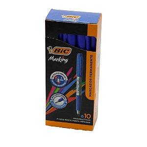 Pincel marcador permanente Marking 1.1mm Bic Azul