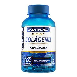 Colágeno Hidrolisado 120 Cápsulas Catarinense