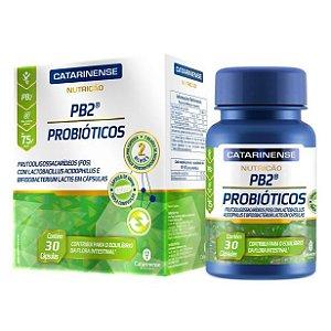 PB2 Probióticos 30 Cápsulas Catarinense