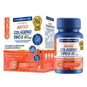 Artro Colágeno Tipo II 30 Cápsulas Catarinense