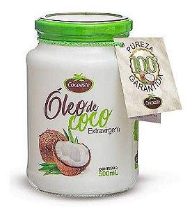 Óleo de Coco Extravirgem 500ml Cocoeste