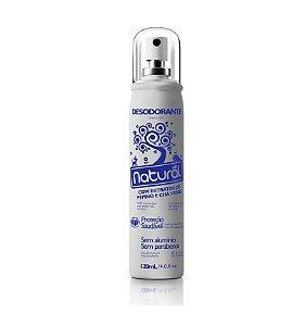 Desodorante Natural Suavetex com Extratos de Pepino e Chá Verde 120mL