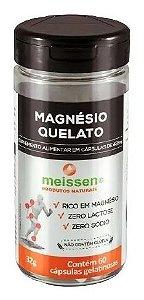 Magnésio Quelato Meissen 60 Cápsulas