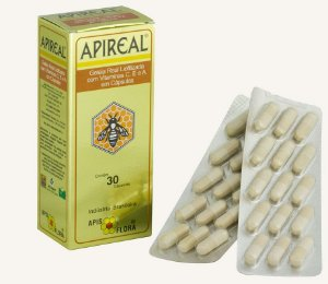 APIREAL - Geleia Real Natural Liofilizada cápsulas