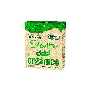 Adoçante Em Pó Orgânico 50 envelopes de 50mg Stevita
