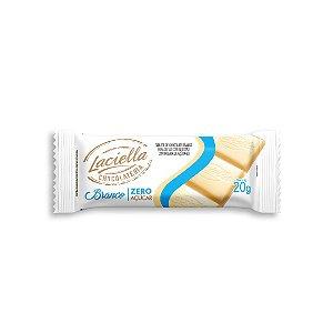 Tablete Chocolate Branco Zero Açucar Laciella 20g