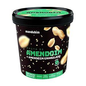 Pasta De Amendoim Granulado Mandubim 450g