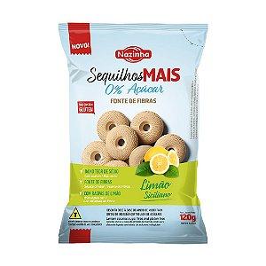 Sequilho Zero Açúcar Nazinha Limão Siciliano