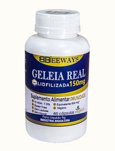GELEIA REAL LIOFILIZADA BEEWAYS 60 caps