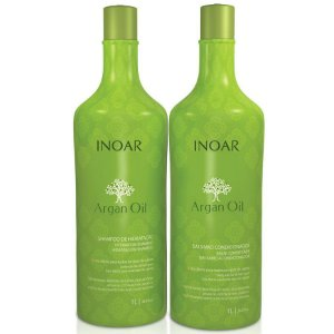 Kit Inoar Argan Oil Shampoo E Condicionador 1 Litro