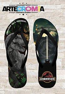 Chinelo Personalizado Jurassic World MDL 001