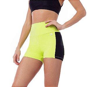 Shorts Fitness Feminino Filmy Verde Lime VESTEM