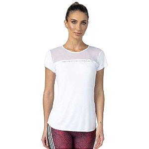 Blusa Feminina T-Shirt Alongada Laufen Tule ZERO AÇUCAR