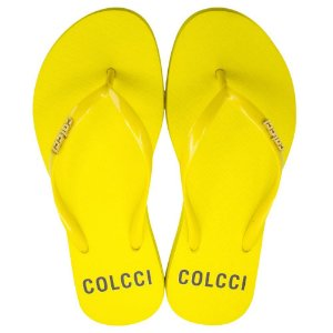 Chinelo Colcci Basic Amarelo