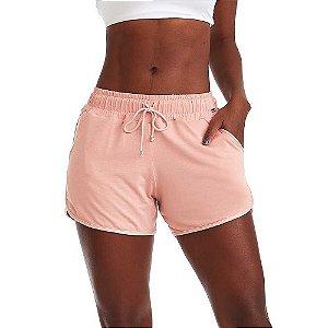 Shorts Feminino Happy Rosa CAJUBRASIL
