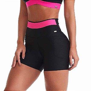 Shorts Fitness Feminino Mystic Preto CAJUBRASIL