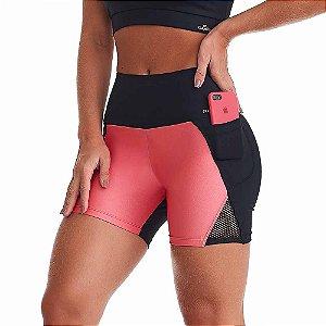 Shorts Fitness Feminino NZ Effort Preto CAJUBRASIL