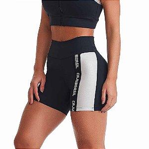 Shorts Fitness Feminino NZ Strenght Preto CAJUBRASIL