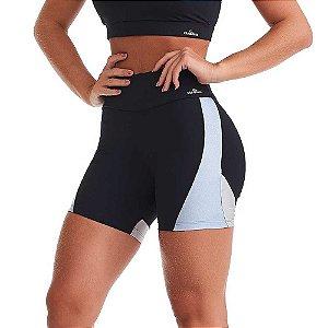 Shorts Fitness Feminino Emana Harmony Preto CAJUBRASIL