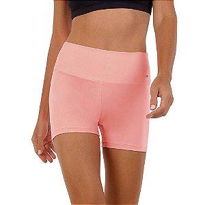 Shorts Fitness Feminino Supplex Termo Coral Vibe ALTO GIRO