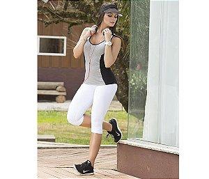 Calça Corsário Básico Branco, Preto ou Marinho Oxyfit
