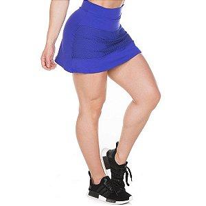 Shorts Saia Salete Azul Garotafit
