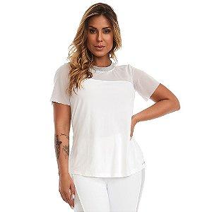 Blusa T-Shirt Visionary Branca CAJUBRASIL