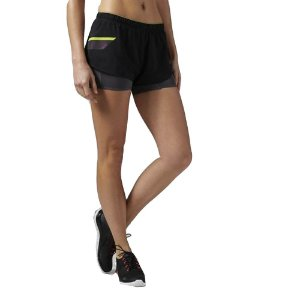 Short Run One Series 2 em 1 Preto REEBOK