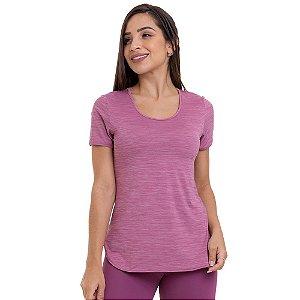 Blusa Feminina T-Shirt Cool Classic 9944 Lilás CAJUBRASIL