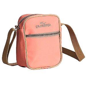 Bolsa Shoulder Bag Caprice Rosa CAJUBRASIL