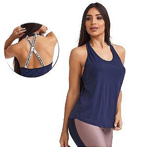Regata Feminina Inspiration Azul CAJUBRASIL