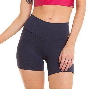 Shorts Feminino Fitness NZ Classic Cinza CAJUBRASIL