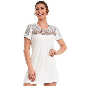 Vestido Fitness Dream Branco CAJUBRASIL