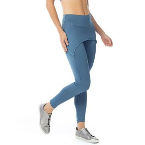 Calça Legging Fusô 61 FS61.023 Com Tapa Bumbum Azul Galaxya VESTEM