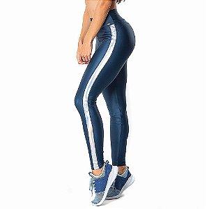 Calça Legging Atletika Ilusion Azul CAJUBRASIL