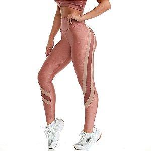 Calça Legging Warrior Rosa CAJUBRASIL
