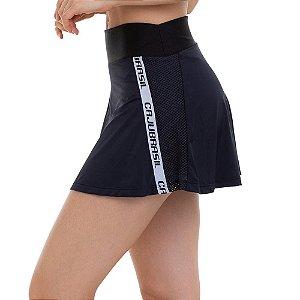 Shorts Saia Fitness Powerful 11562 Preto CAJUBRASIL