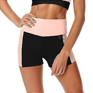 Shorts Feminino Fitness Blend SH266.001 Preto VESTEM