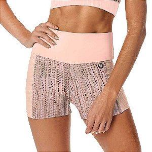 Shorts Feminino Fitness Blend SH271.001 Nude VESTEM