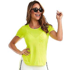 Blusa Feminina T-Shirt Wonderful 11738 Verde CAJUBRASIL