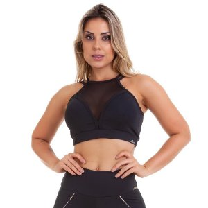 Top Cropped NZ Wish 11126 Preto CAJUBRASIL