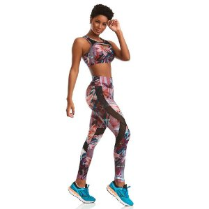 Conjunto Top e Legging Power Print CAJUBRASIL