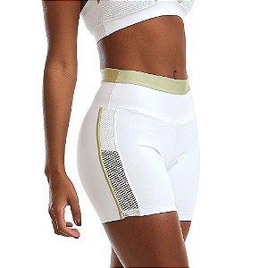 Shorts Feminino NZ Breathe Branco CAJUBRASIL
