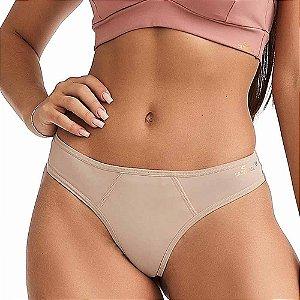 Calcinha Fitness Comfort Nude CAJUBRASIL
