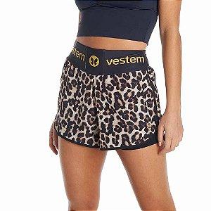 Shorts Feminino Beyond Leopard Vestem