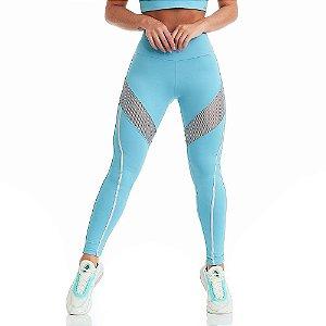 Calça Legging NZ Cool Azul CAJUBRASIL