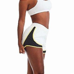 Shorts Feminino Way Amarelo CAJUBRASIL