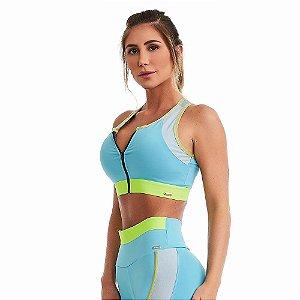 Top Fitness NZ Flow Azul CAJUBRASIL