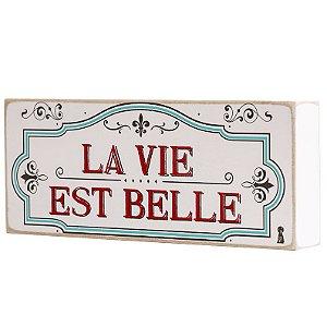 Quadro Box – La Vie 30×12