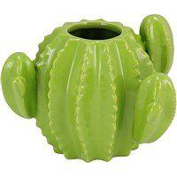 Vaso Cactus Verde Claro